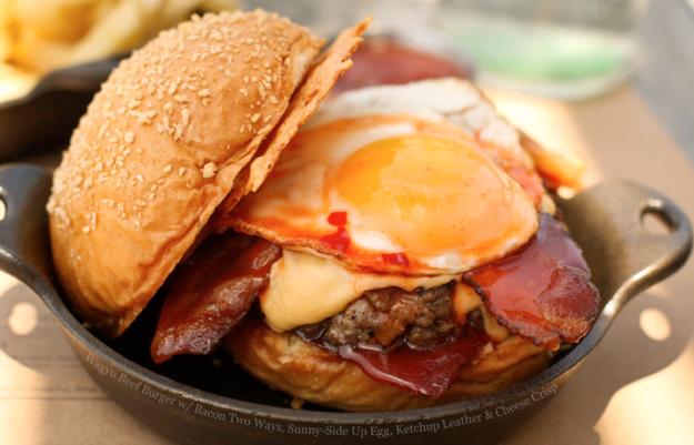 Wagyu-Burger
